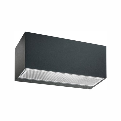 Norlys Asker BIG Grafit Op/Ned Væglampe m. LED modul