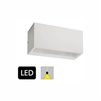 Norlys Asker 1726 Hvid Down Light Væglampe med LED-modul