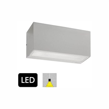 Norlys Asker 1726 Aluminium Down Light Væglampe med LED-modul